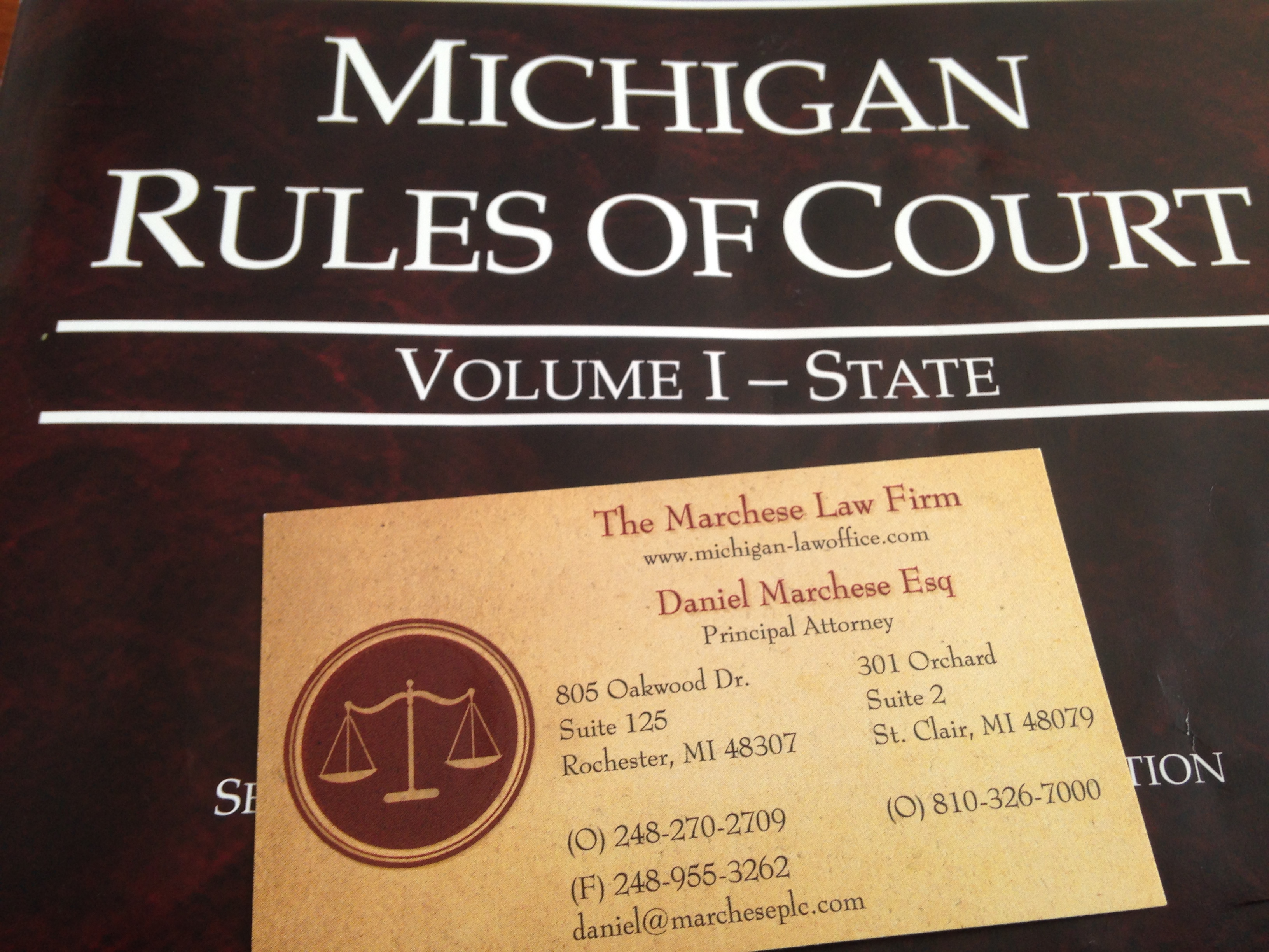 Major Stages Of A Lawsuit In The State Of Michigan
